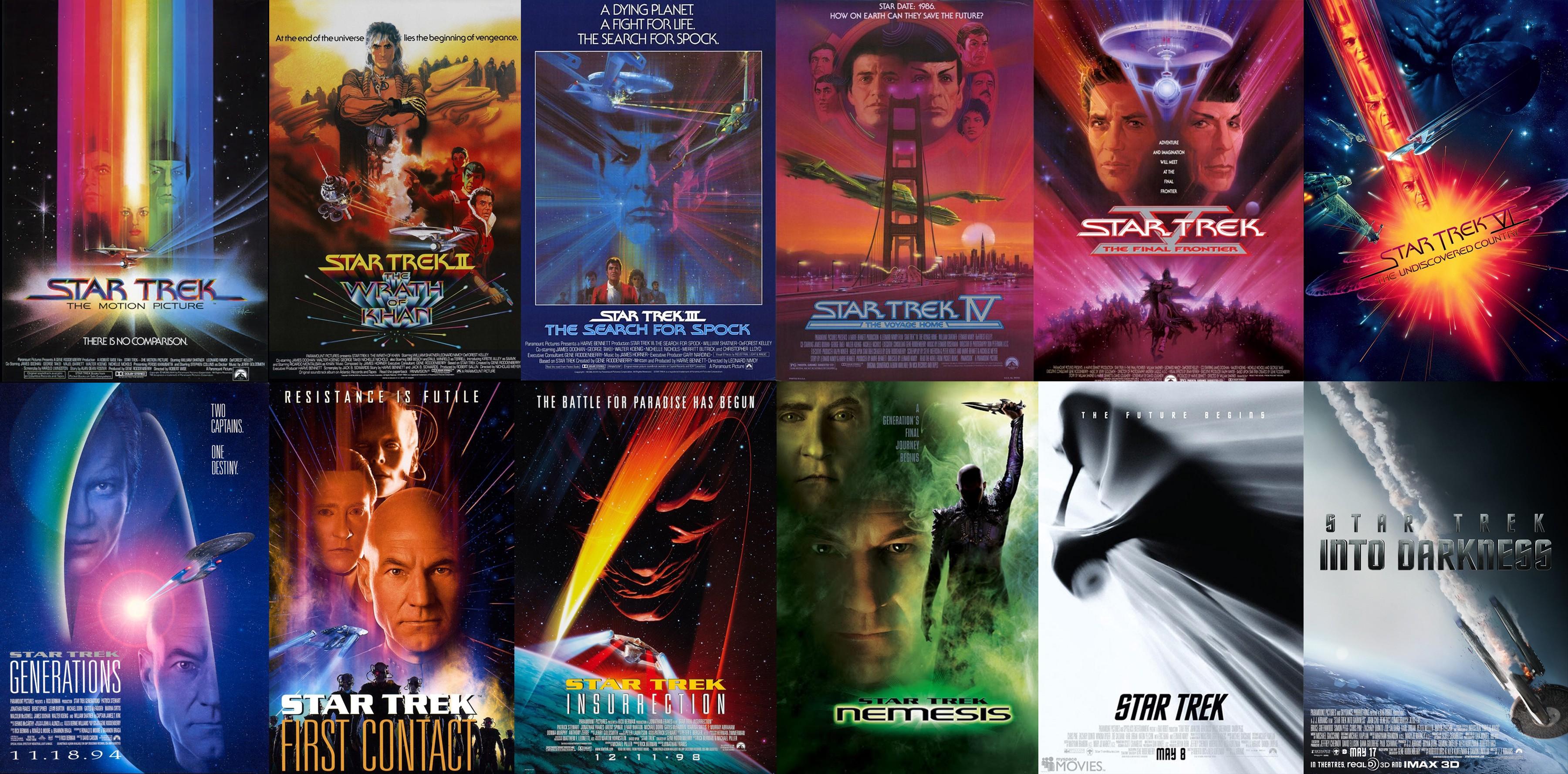 Ranking the Star Trek Films - Midday Musings - Medium